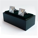 Picture of Cufflinks Prince Charlie Chrome Finish