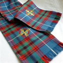 Picture of Clerical Tartan Stole, Embroidered, Custom made