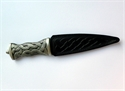 Picture of Sgian Dubh, Celtic Whorl, Stud Top