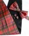 Picture of Cummerbund, Bow-tie and Cufflink Set in ANY Tartan