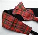 Picture of Cummerbund and Selftie Bow-tie Set, in ANY Tartan