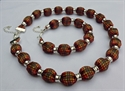 Picture of Strathearn Tartan -Tartan Necklace & Bracelet Set