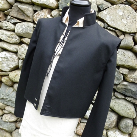 Picture of Jacobean Swordsman Two-in-One Black Jacket