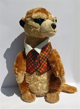 Picture of Tartan Toy Meerkat