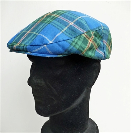 Picture of Cap, Mens Flat Cap, Tartan County Style, One Size