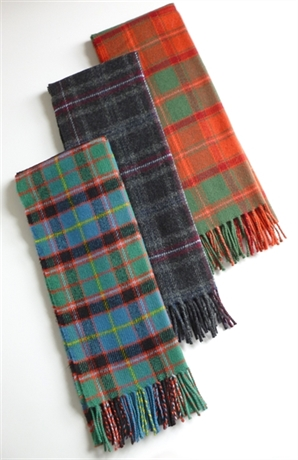 Picture of Premier Lambswool Scarf, DISTRICT Tartans