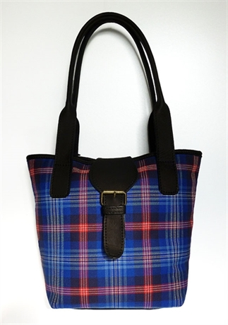 Picture of Handbag, Purse, Hirta Bucket Bag (In Your Tartan)