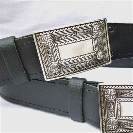 Picture of Trews Belt with Celtic Buckle