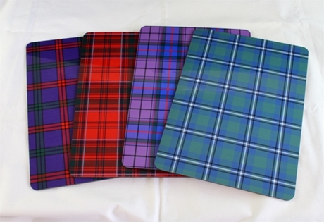 Picture of Tartan Placemats, Table Mats in ANY Tartan