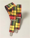 Picture of Braces (Suspenders) Silk Tartan (Clip on) Dupion Silk