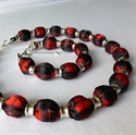Picture of Tartan Necklace & Bracelet Set - Made to order in your Tartan, any Tartan