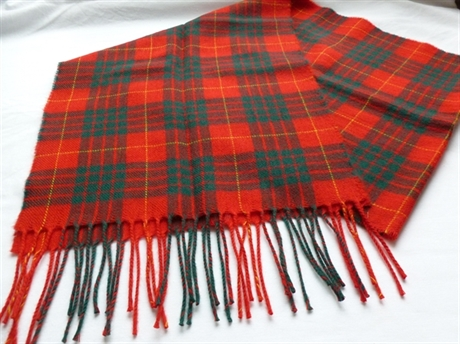 Picture of Scarf, Luxury Lambswool, Tartan