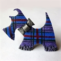 Picture of Wardlaw Scottie Dog Brooch