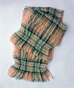 Picture of Diana Rose Tartan - Crinkled Scarf